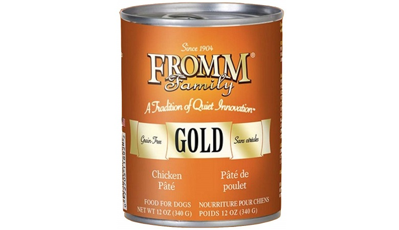 Best Wet Dog Food: Winner: Fromm Gold Nutritional Chicken Can Dog Food Case